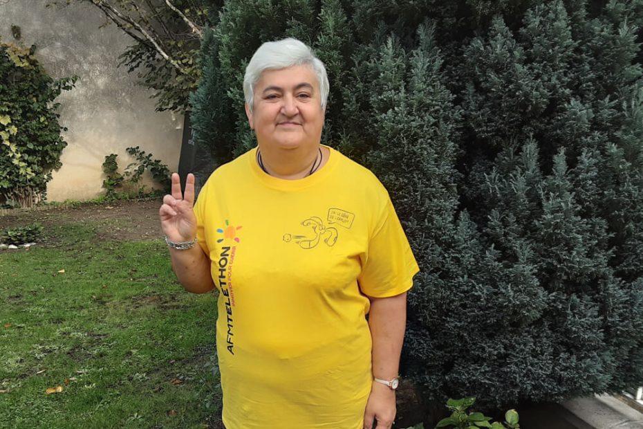 Portrait de Béatrice, bénévole Téléthon à Villemomble Espoir