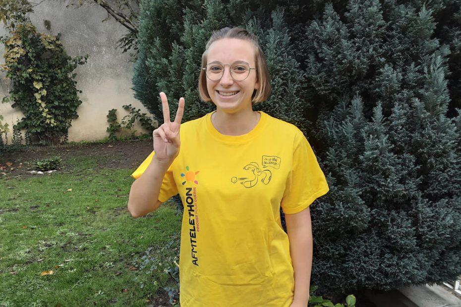 Portrait de Louise, bénévole Téléthon à Villemomble Espoir