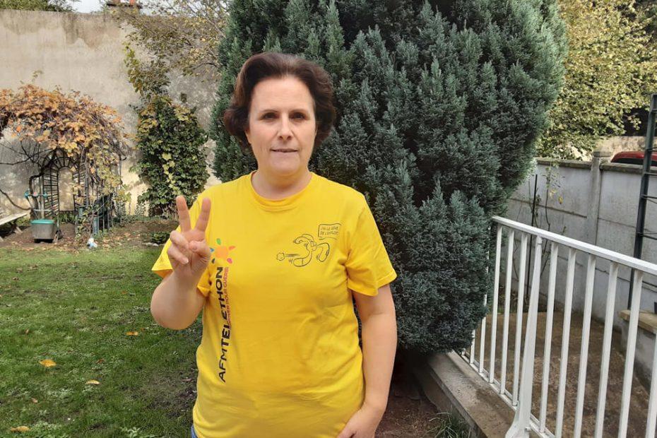 Portrait de Nathalie, bénévole Téléthon à Villemomble Espoir