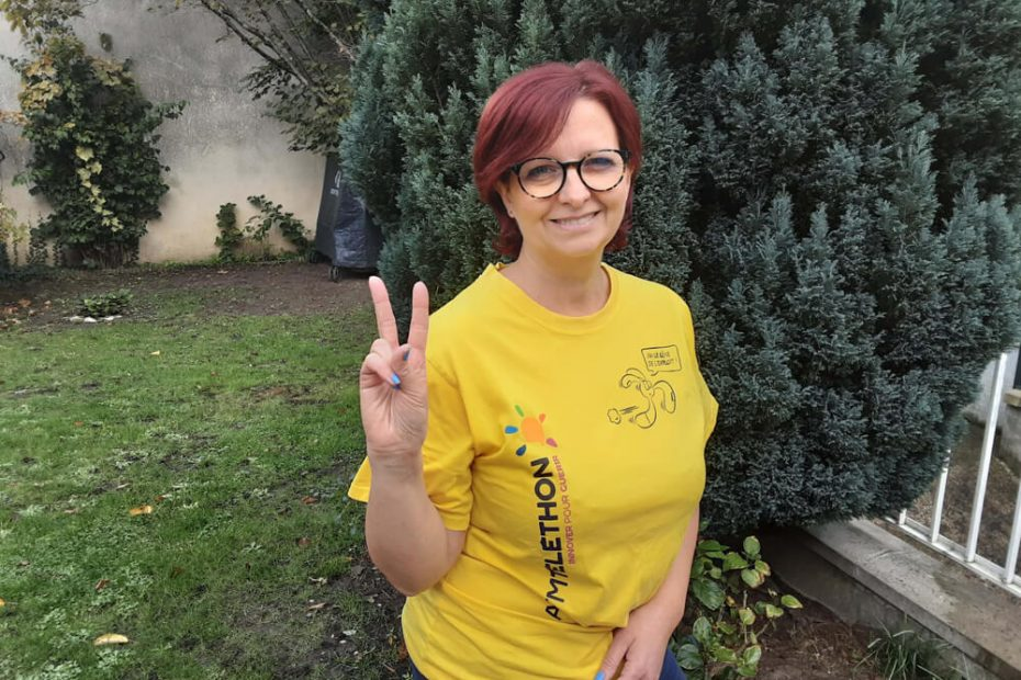 Portrait de Sophie, bénévole Téléthon à Villemomble Espoir