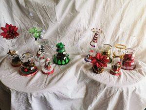 Présentation de l'ensemble des décos de Noël faites par Louise