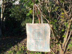 Tote Bag vert - 5 euros