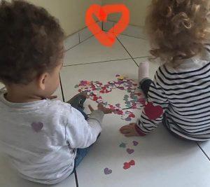 Challenge coeur à coeur de Jamila