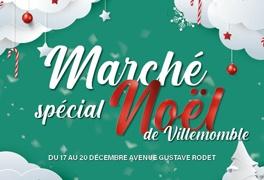 Affiche du Marché de Noël de Villemomble